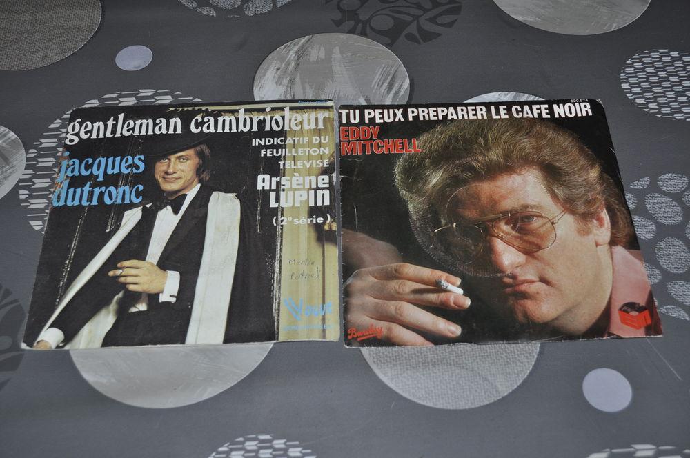 45 tours vinyles Eddy Micthell et Jacques Dutronc 5 Perreuil (71)