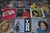 Lot de 45 tours vinyles  Michelle Torr  10 Perreuil (71)