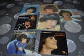 Lot de 45 tours vinyles de Mireille Mathieu 10 Perreuil (71)