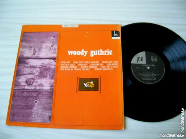 33 TOURS WOODY GUTHRIE Woody Guthrie 70 Nantes (44)