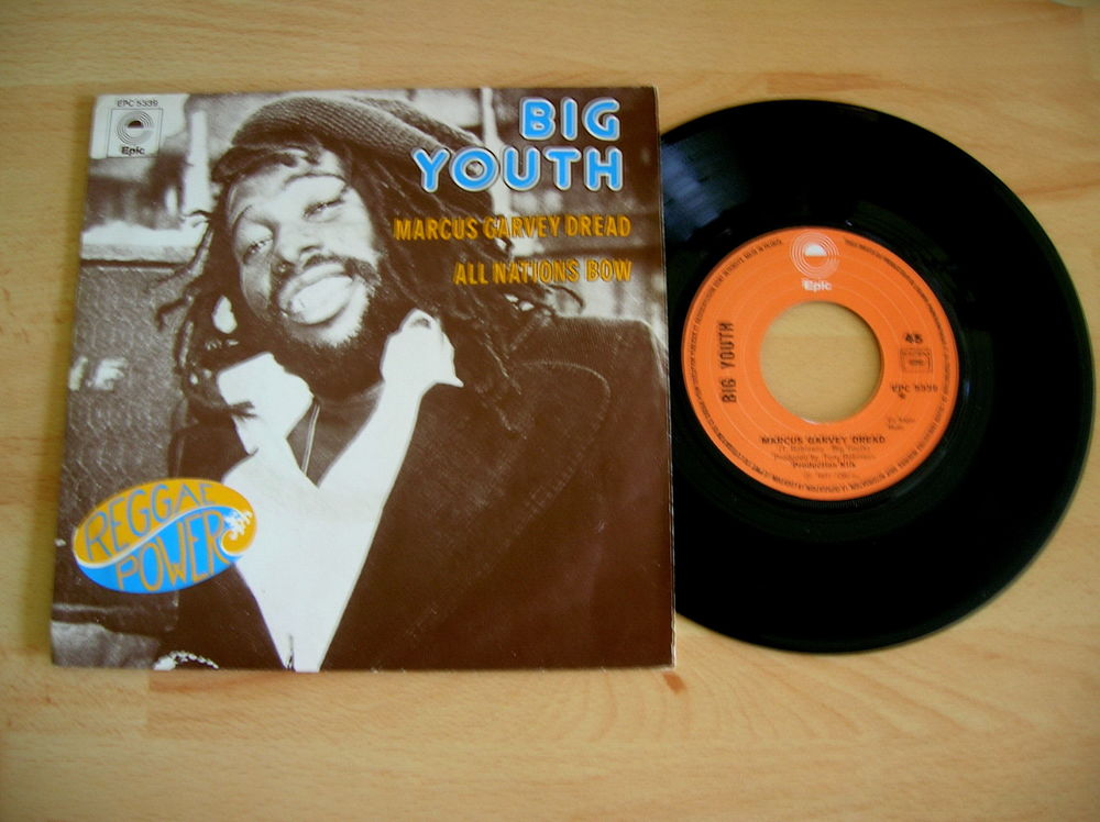 45 Tours BIG YOUTH Marcus Garvey Dread