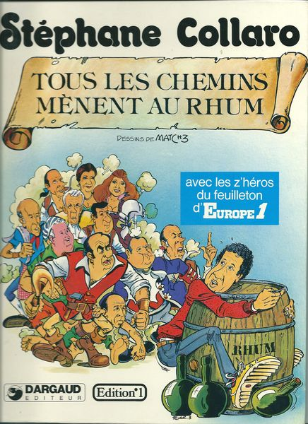 BD 3 Tous les chemins mènent au Rhum  0 Mulhouse (68)