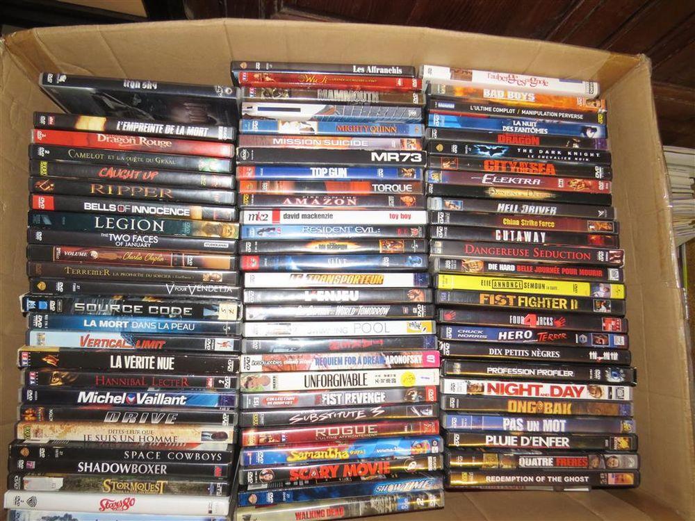 Lot 160 DVD et + tous genres  50 Toulon (83)