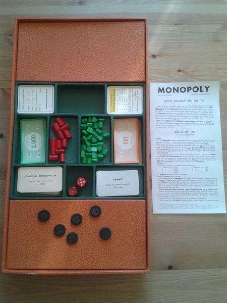 Tout premier jeu de Monopoly 40 Grignan (26)