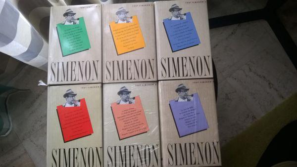 TOUT SIMENON oeuvres complètes 6 volumes neufs 50 Reims (51)