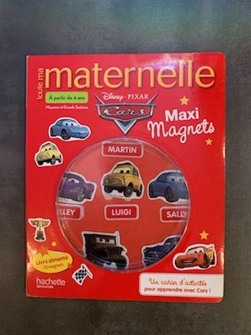Toute Ma Maternelle Cars, Maxi Magnets - A Partir De 4 Ans,  6 Lyon 7 (69)