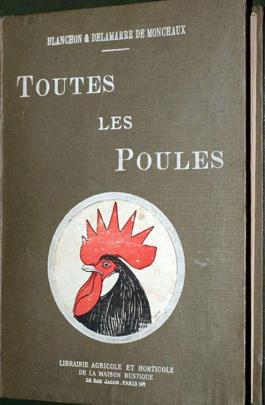 Toutes les poules 1924 rare 315 Montcy-Notre-Dame (08)