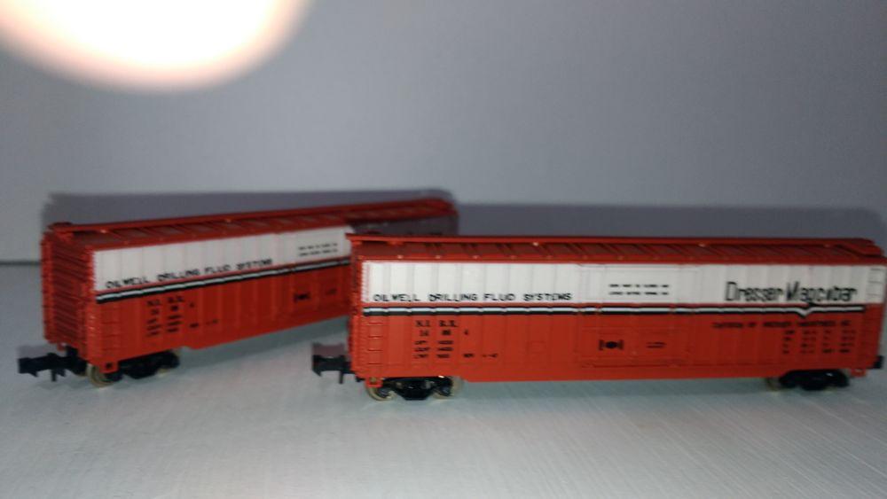 train N M.R.C 7026 - 2 wagons marchandises US Jeux / jouets