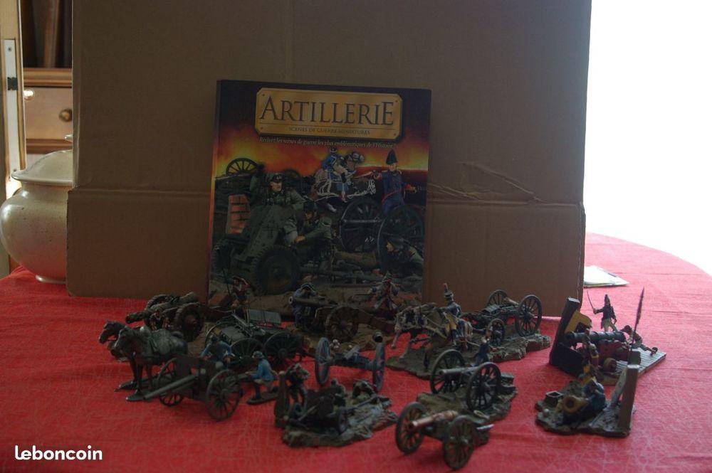 Train artillerie NAPOLOEON, canon antichar,etc 100 Égly (91)