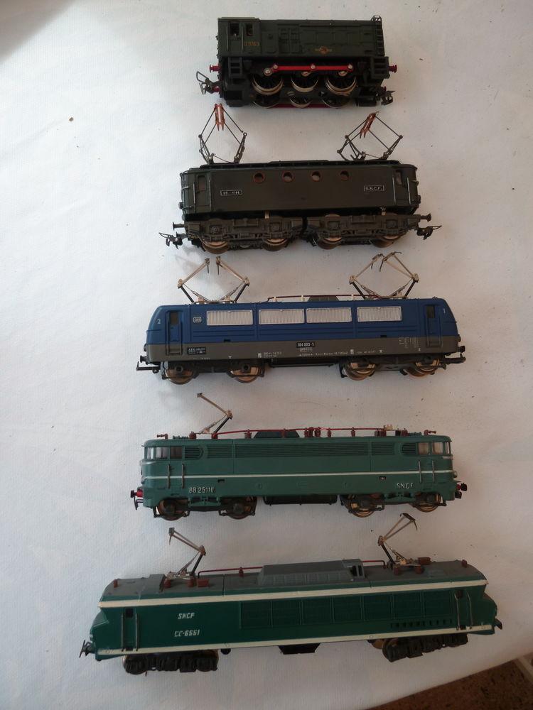 LOT train électrique année 70  Jouef / Meccano très bon état 650 Liffré (35)