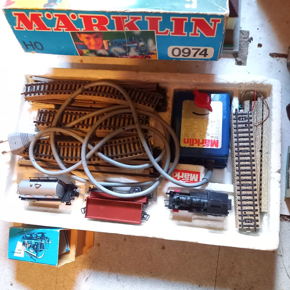 Train électrique de marque MARKLIN 150 Cheniménil (88)