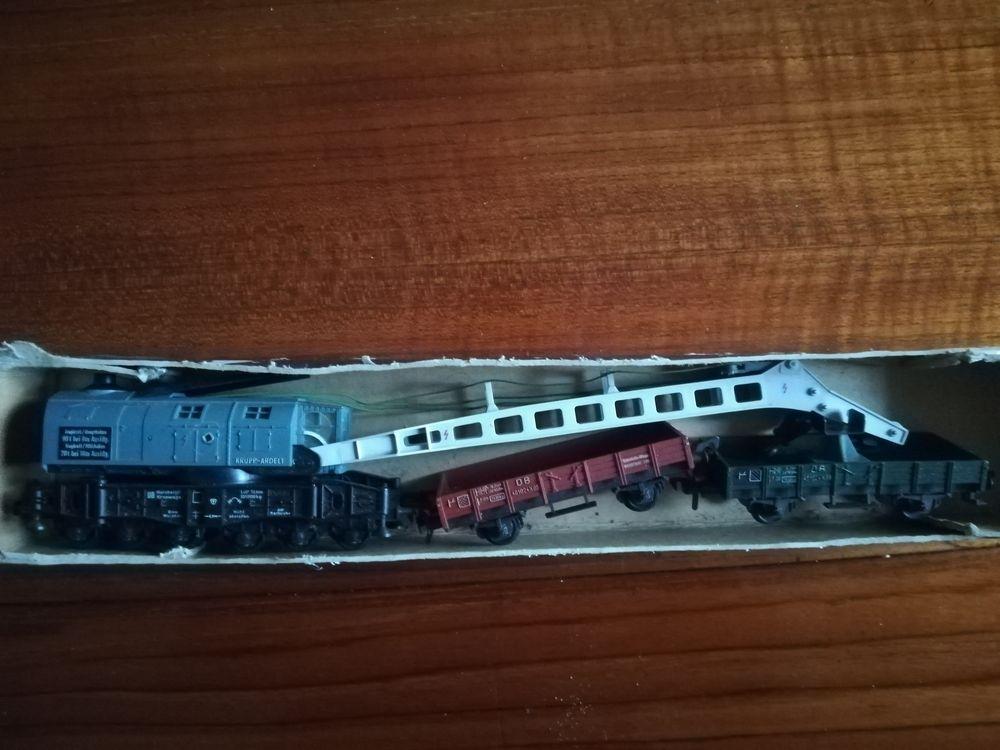 train électrique HO. 850 Paris 18 (75)