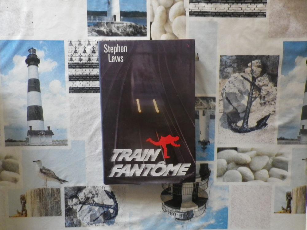 TRAIN FANTOME de Stephen LAWS Ed. France Loisirs 3 Bubry (56)