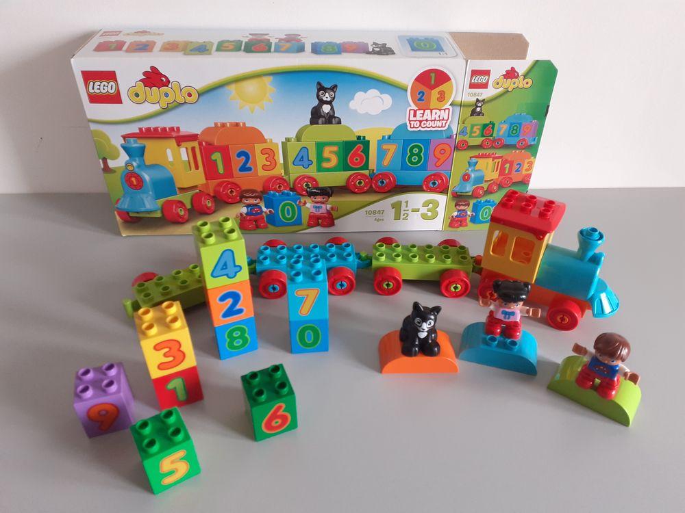 Train lego duplo n°10847. 10 Plestan (22)