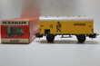 train HO MARKLIN fourgon transport de banane 'jamaica'