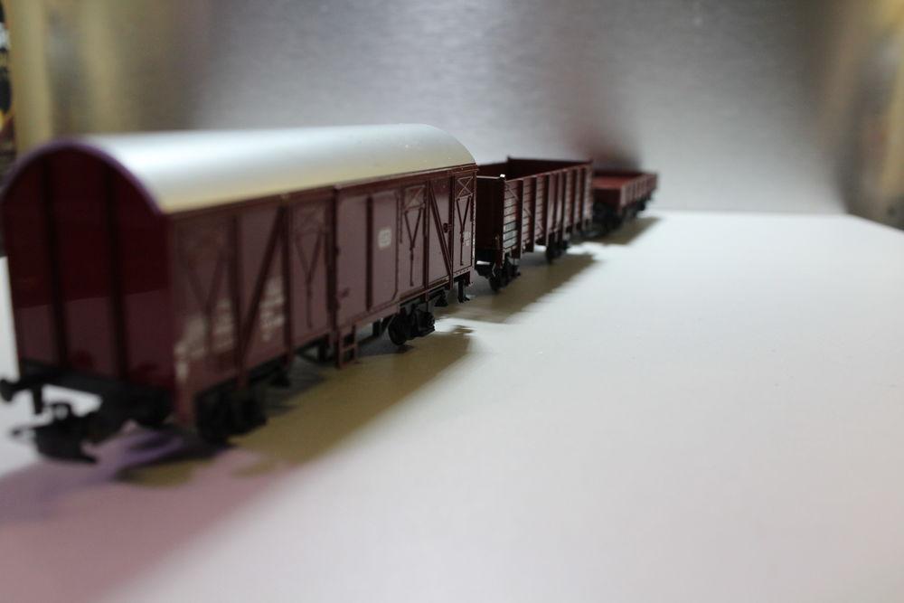 train HO MARKLIN rame 3 wagons marchandises 44 Colombes (92)