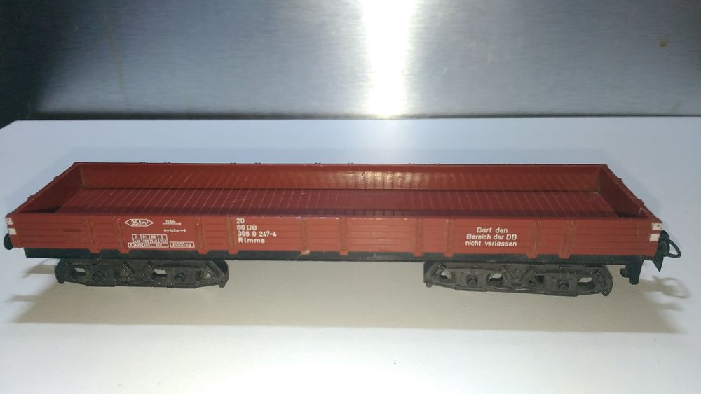 train HO MARKLIN tombereau bas DB 15 Colombes (92)