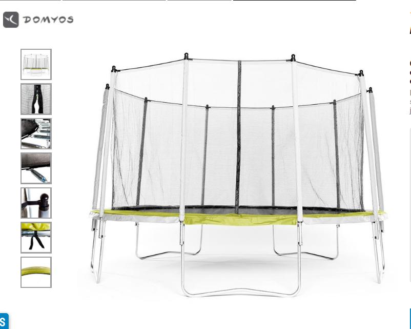 trampoline 420cm  150 Condé-Folie (80)