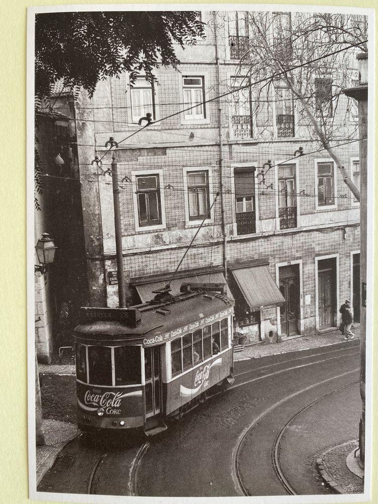Tramway N° 28 carte postale Lisbonne Portugal Noir et Blanc 3 Joué-lès-Tours (37)