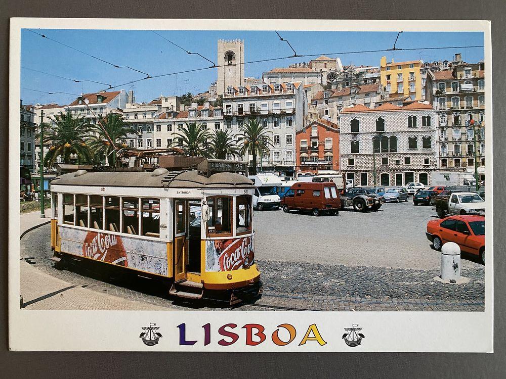 Tramway N°25 LISBOA  casas dos Bicos - Sé - Carte Postale 3 Joué-lès-Tours (37)