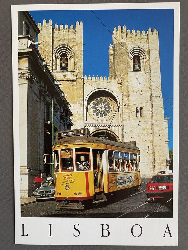 Tramway N°28 LISBOA - Sé  Catedral- Carte Postale 3 Joué-lès-Tours (37)