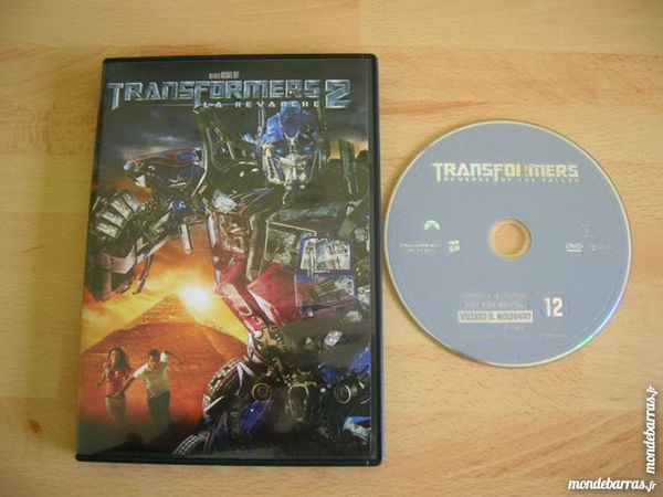 DVD TRANSFORMERS 2 La revanche 7 Nantes (44)