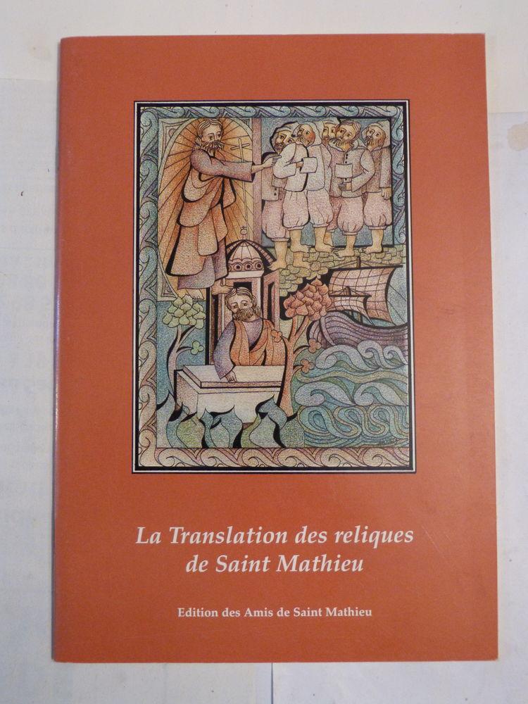 LA TRANSLATION DES RELIQUES DE SAINT MATHIEU Livres et BD