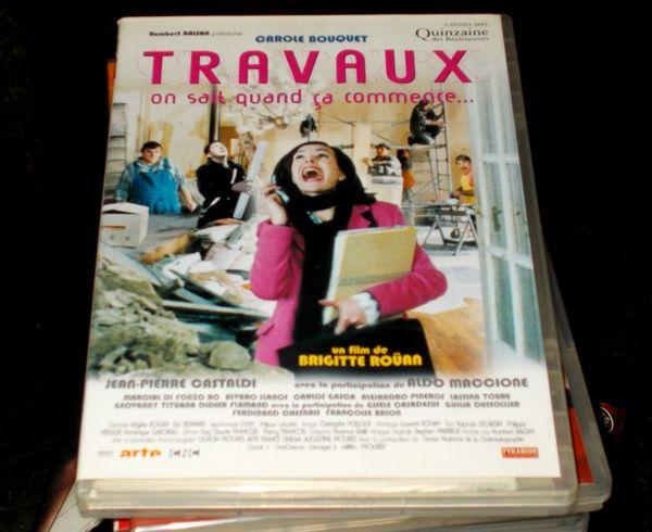 Dvd travaux avec carole bouquet (comédie) 5 Monflanquin (47)