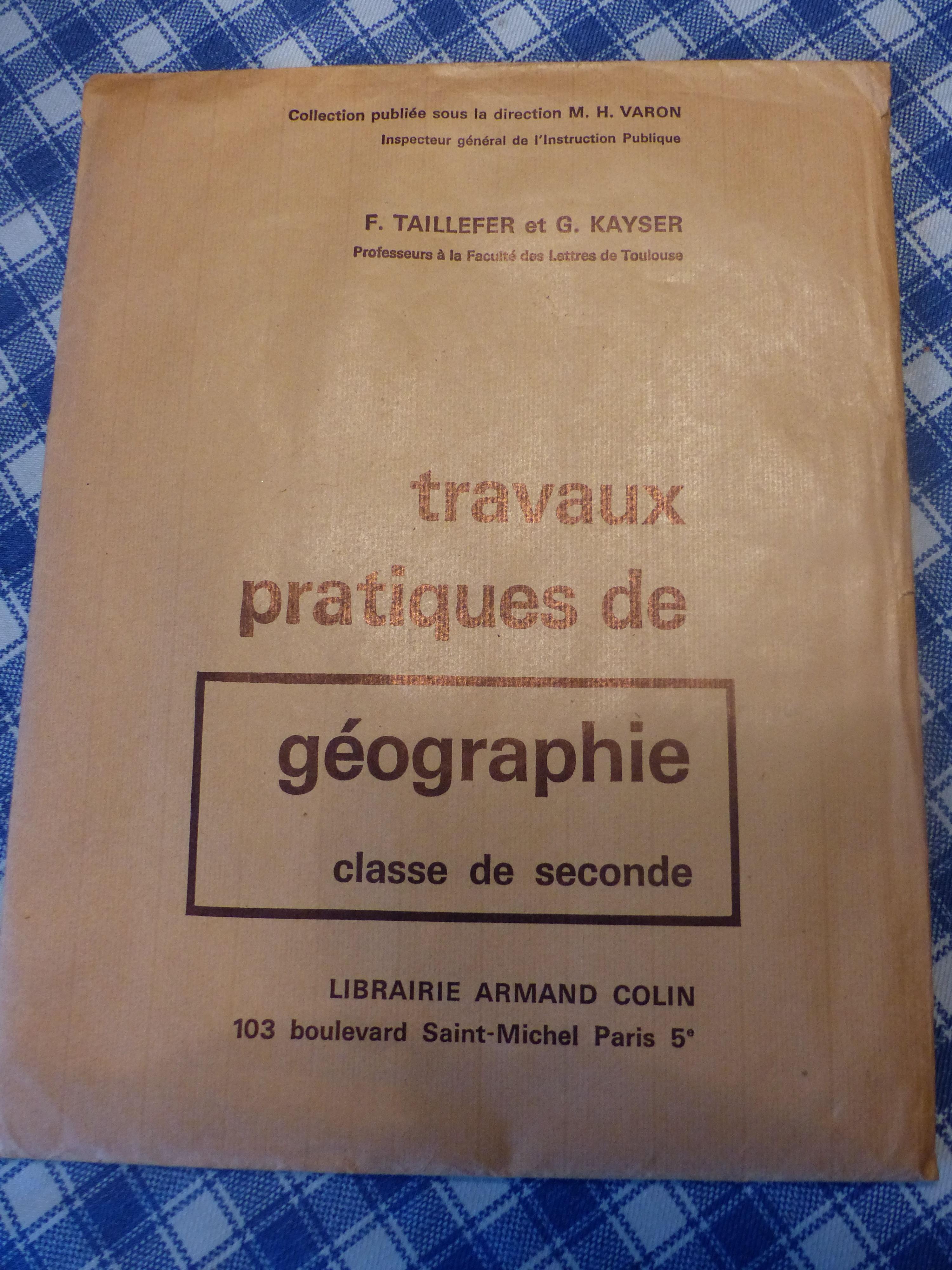 Travaux Pratiques  de Géographie - livre/TP 7 Roclincourt (62)