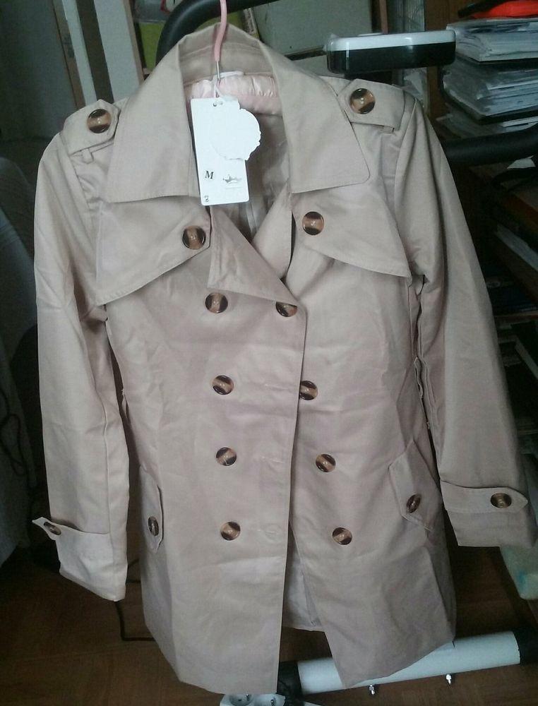 trench coat beige taille M  neuf 20e 20 Paris 19 (75)