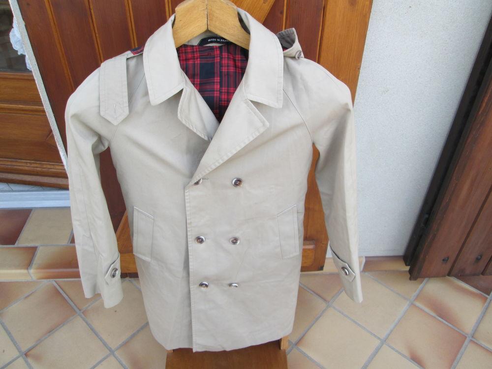 Trench Coat à capuche amovible 12 ans   30 Bourgoin-Jallieu (38)