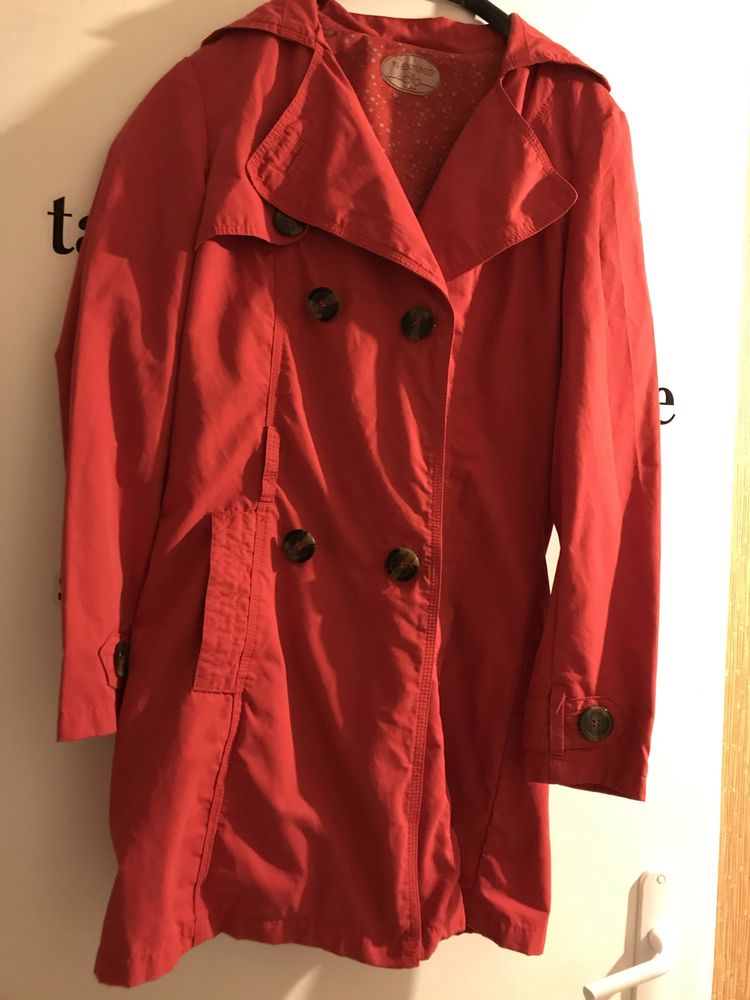 TRENCH ROUGE 100% coton taille S 22 Saint-Genis-Laval (69)