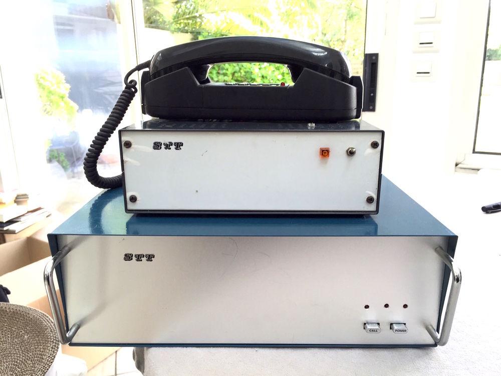 Très ancien téléphone STT (émetteur+récepteur) 159 Nantes (44)