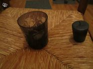 Très beau bougeoir noir avec bougie verre fumé 0 Mérignies (59)
