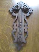 très beau christ sculpter dans le bois 15 Mérignies (59)