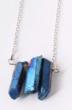 Très beau collier pierres bleues