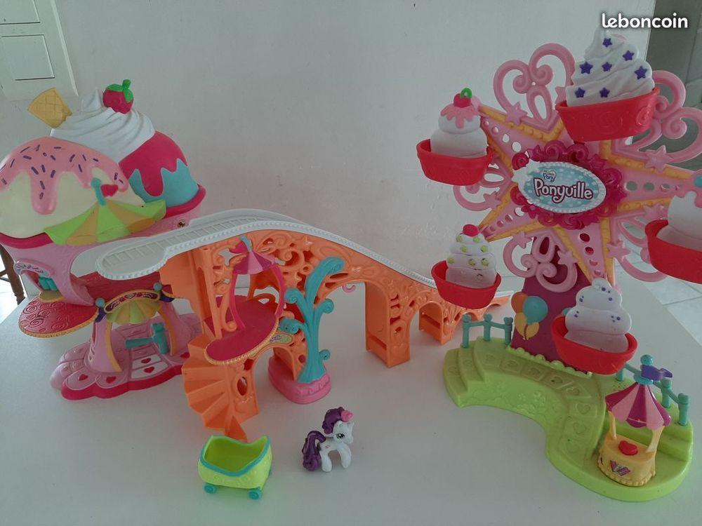 Très beau lot jeux Little Pony  13 Plumergat (56)