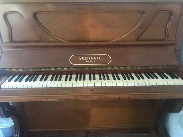 Très beau Piano bois SCHILLIO Paris fin du 19° siècle. 0 Le Pradet (83)