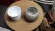2 très beau pots un blanc et un gris pour fleurs ou autre Mérignies (59)