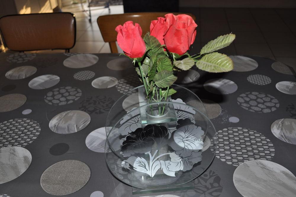 Très beau vase en verre 20 Perreuil (71)