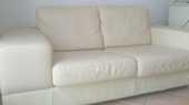 Trés beaux canapés cuir design contemporain 300 € l'un 300 Lorgues (83)