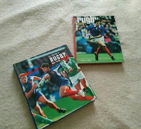 2 très beaux livres sur le Rugby Livres et BD