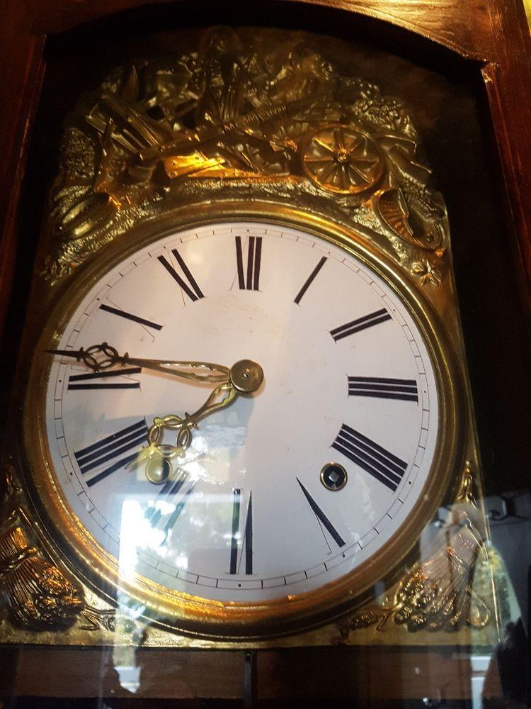 Très belle Ancienne Horloge Comtoise, en l'état  60 Mouxy (73)