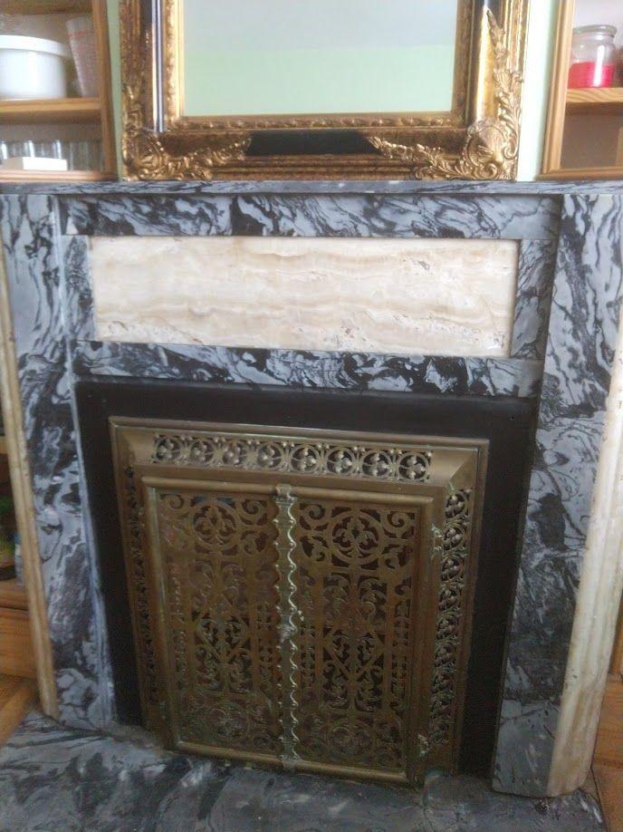 Très belle cheminée d'époque en marbre  800 Don (59)