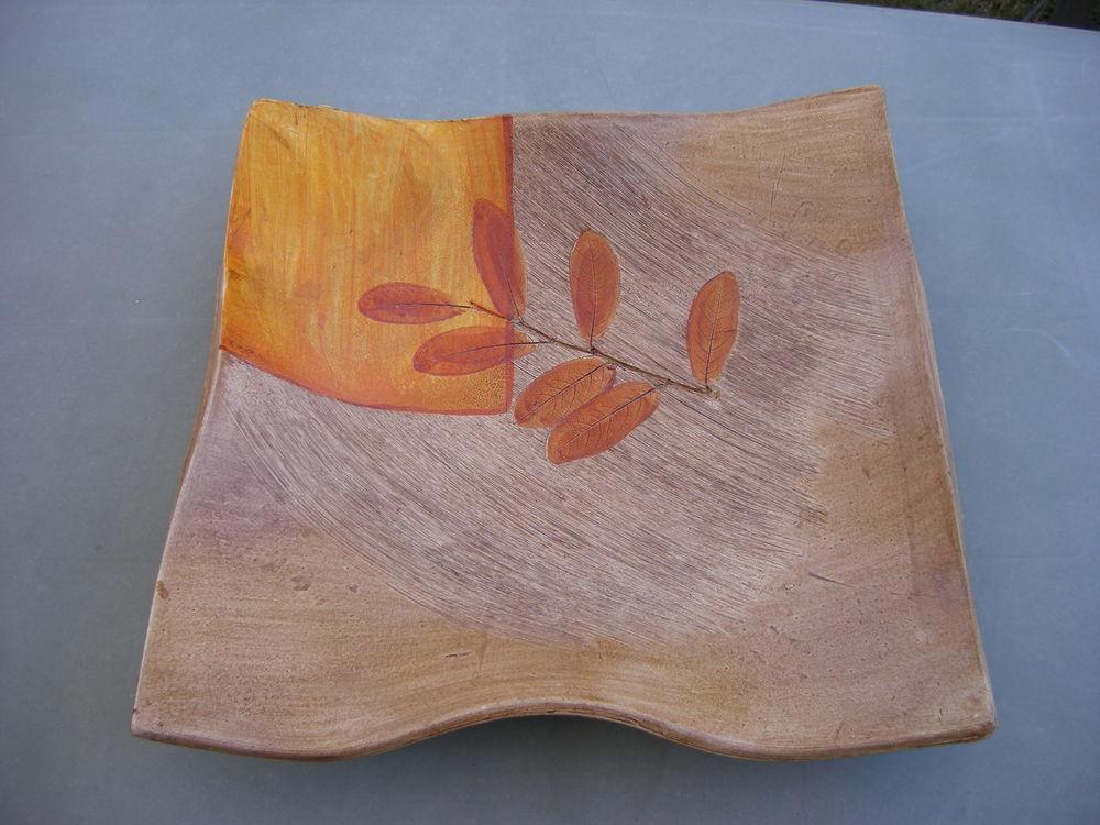 Très belle coupe à fruits céramique 35 cm au carré - NEUVE 12 Saint-Jean (31)