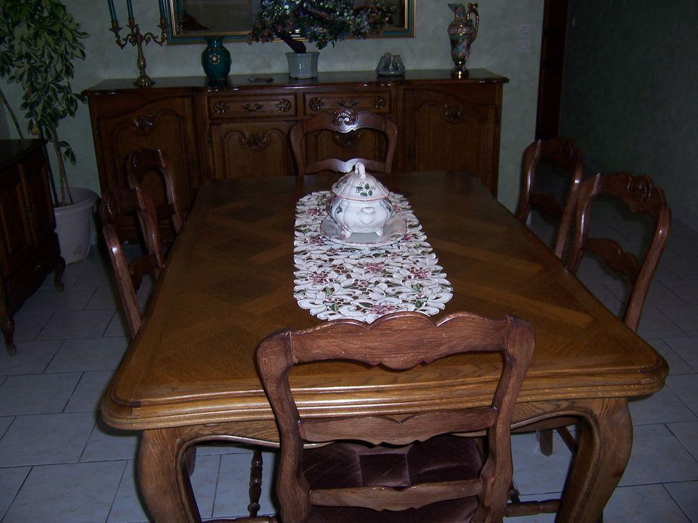 Très belle salle à manger en chêne 450 Caffiers (62)