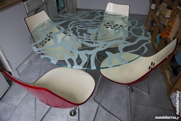 Très belle table et chaises design Calligaris 300 Uriage (38)