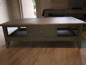 Très belle table basse de salon bois massif 120 Grimaud (83)
