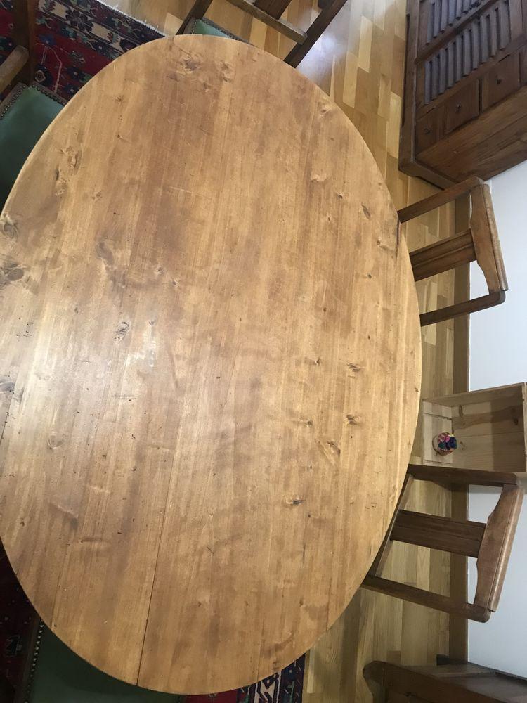 Très belle table de salle à manger en bois avec ses 6 chaise 100 Rennes (35)
