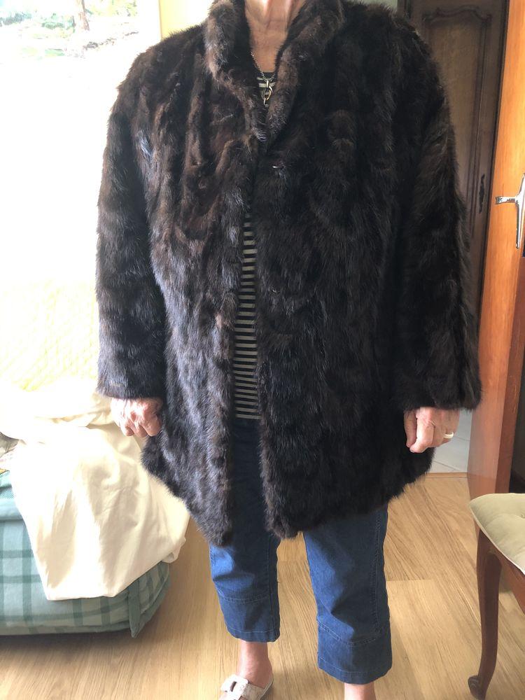 très belle veste en fourrure véritable 50 Rousset (13)